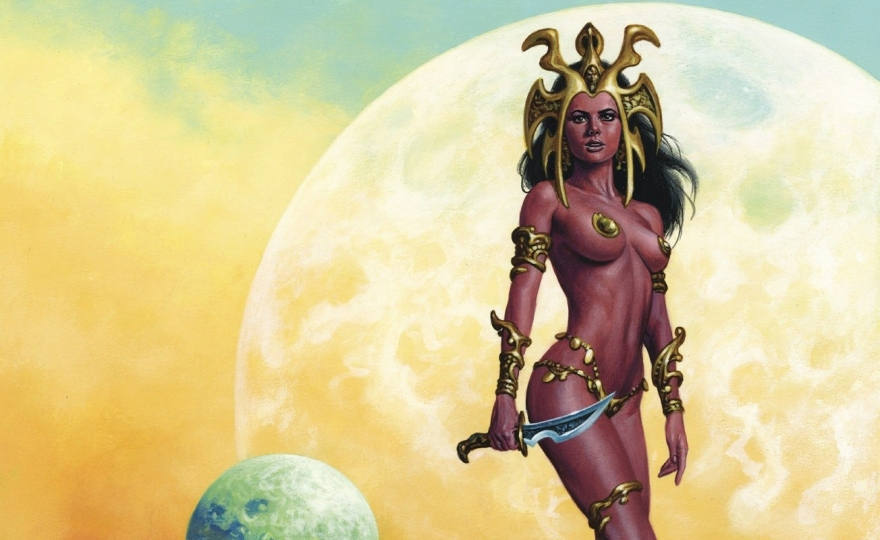 The Art of Dejah Thoris and the Worlds of Mars 1